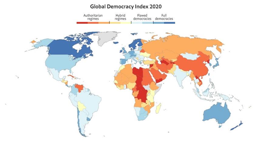 Democracia en el 2020: ¿en la salud y en la enfermedad?