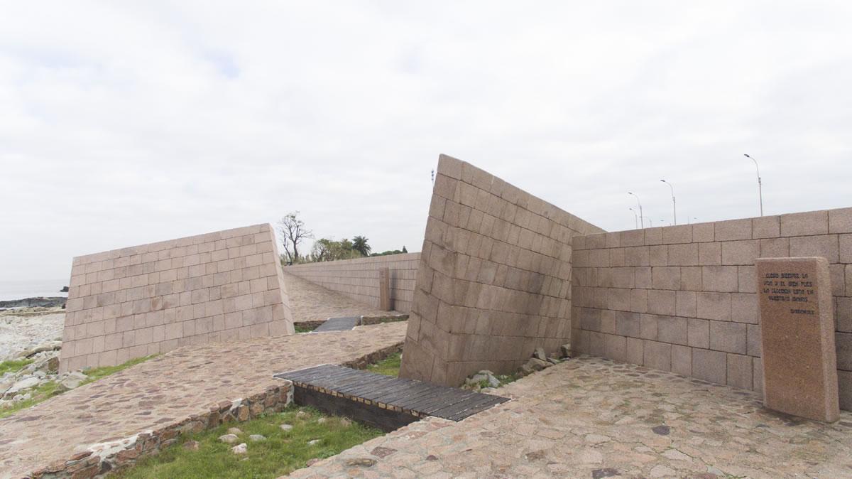 Memorial del Pueblo Judío en Montevideo, Uruguay.